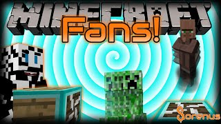 Minecraft | FANS MOD | Sorenus Mods 193