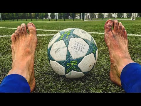 PLAYING FOOTBALL BAREFOOT - What Was I Thinking?