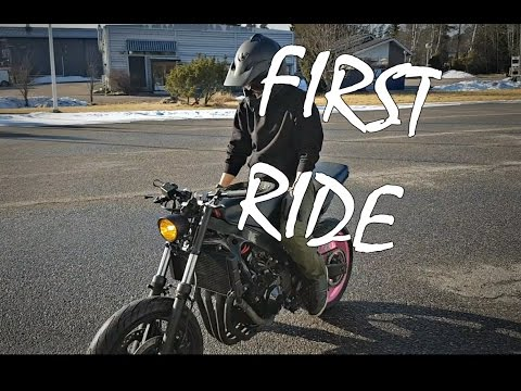 Trial Show // First Ride