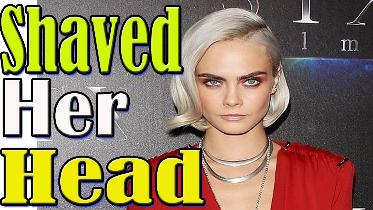 Watch Cara Delevingne Straight-Up Shaved HerHead video