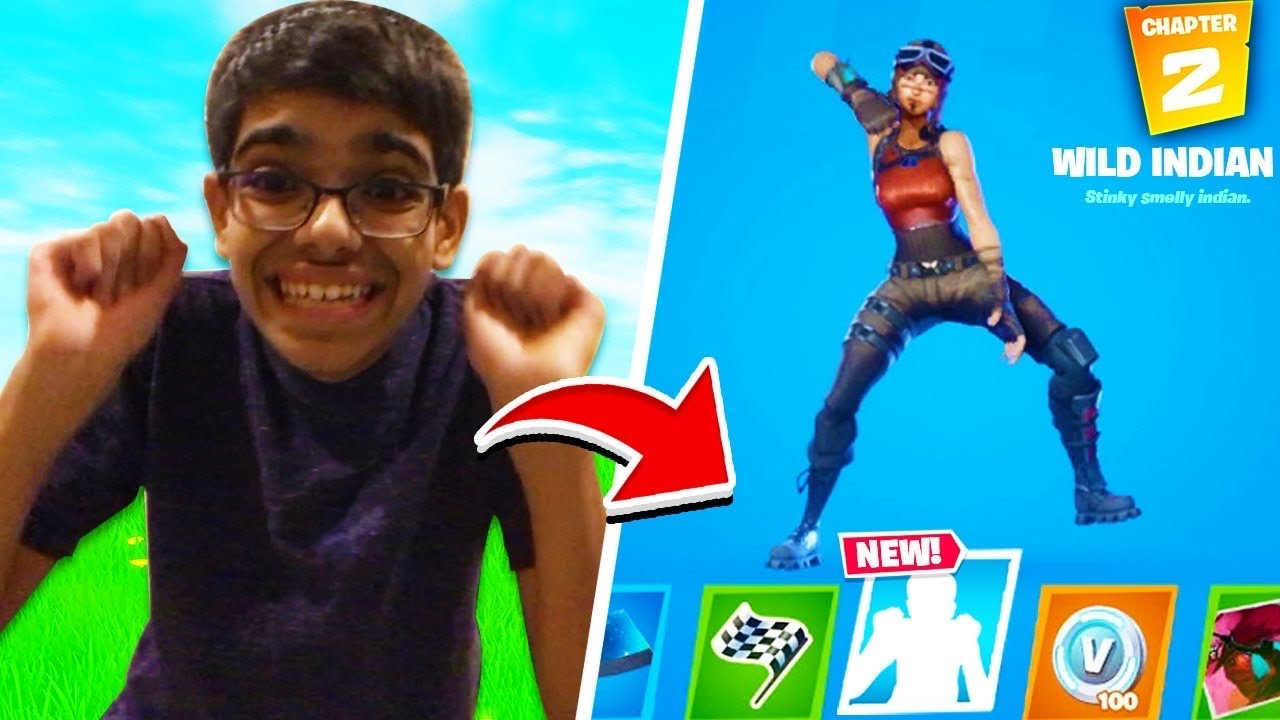 Download Fortnite Added My Cousin's VIRAL DANCE to the Battle Pass! (Chapter 2)