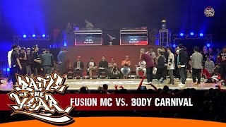 INTERNATIONAL BOTY 2014 - SEMIFINAL #2 - FUSION MC (KOREA) VS BODY CARNIVAL (JAPAN) [BOTY TV]