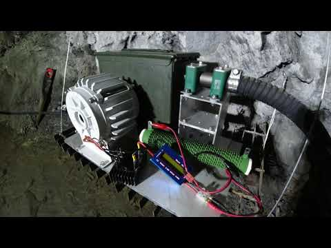 Home Made Micro-Hydro Pelton Turbine to charge batteries off-grid