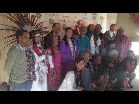 The One Heart Convergence UNIVERSAL PROCLAMATION with the Bushmen in Spain - Roy Littlesun