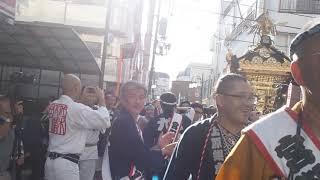 代々木八幡宮 例大祭 宮神輿渡御 2018.9.22  Yoyogi Mikoshi thumbnail