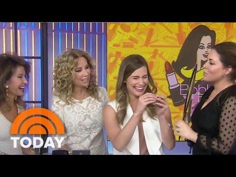 Bobbie's Buzz: Magnetic Lashes, Metallic Lipstick To Attract Admiring Glances | TODAY