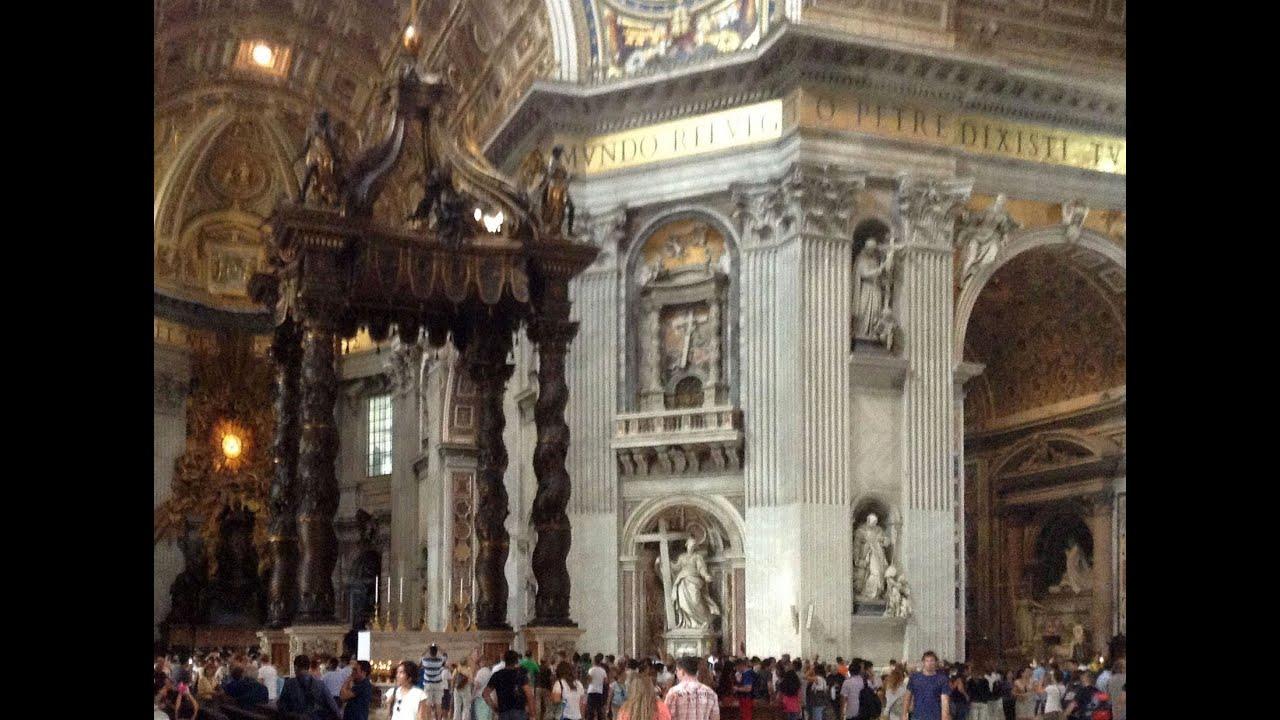 聖彼得大教堂 - YouTube