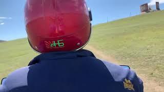 [몽골/하르호린] 승전기념탑을 향해 오토바이는 달린다_…