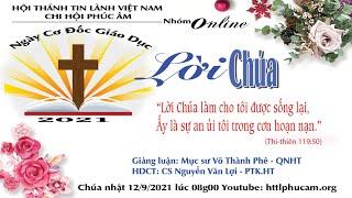 HTTL PHÚC ÂM -  Chương Trình Thờ Phượng Chúa - 12/09/2021