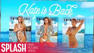 Kate Upton Is The 2017 Sports Illustrated Swimsuit Edition Cover Girl | Splash News TV