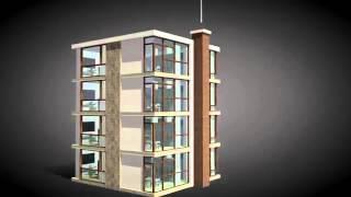 Installatie van hybalans ventilatie