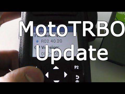 How To Update A MotoTRBO Radio