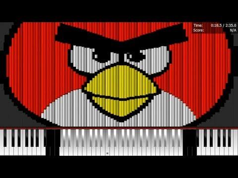 Dark MIDI - ANGRY BIRDS THEME