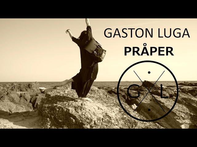 【GASTON LUGA】ミニマルでお洒落な北欧デザインリュック!