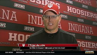 Tom Allen Talks Indiana Football