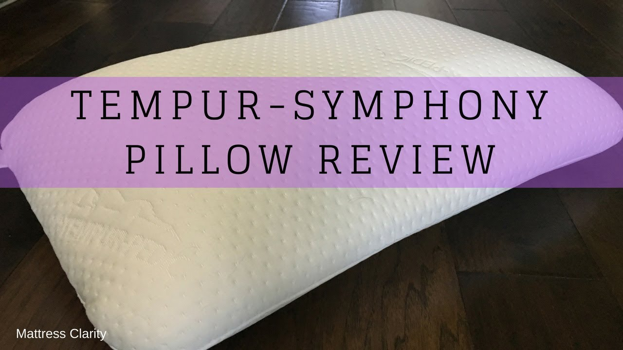 Tempur Symphony Pillow Review Youtube