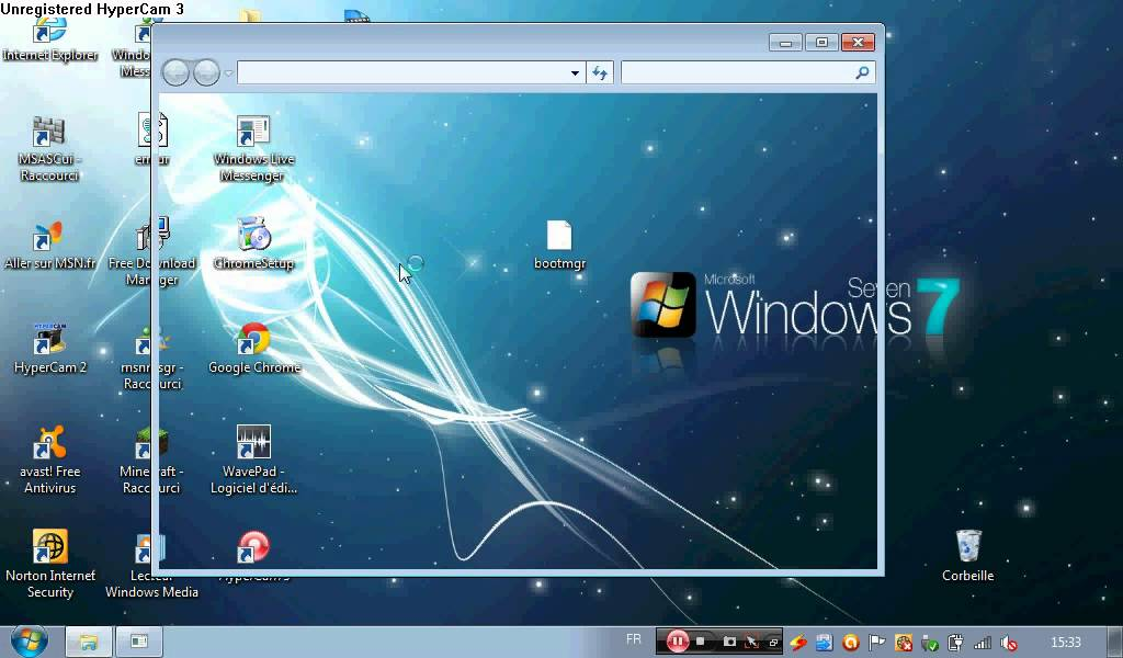 fichier bootmgr windows 7