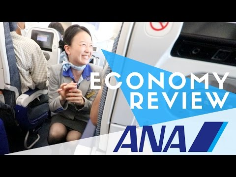 ANA Economy Flight Review - IS IT WORTH IT?