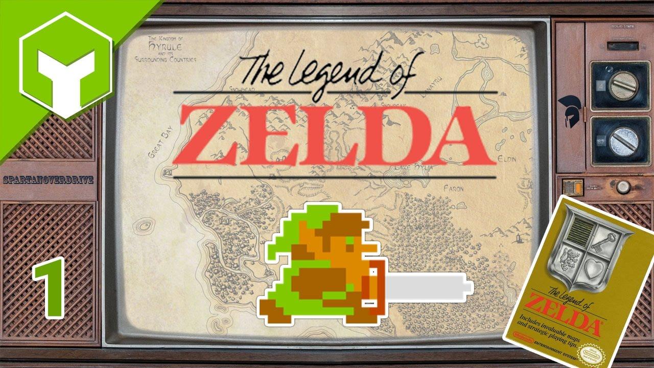 🔥 Legend of Zelda ⚔ Level 1 - The Eagle Completed ⚔ Lets Play mini NES  Zelda