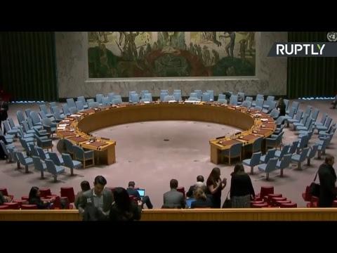 Réunion du Conseil de sécurité de l'ONU sur la crise en Syrie