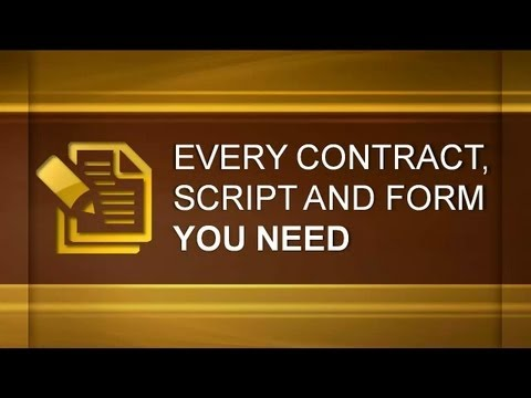 Every Contract, Script And Form You Need To Invest In Real Estate - Real Estate Investing