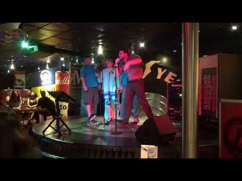 """Cruise 2018 Karaoke - """"I'm on a Boat"""" by Lonely Island (LANGUAGE WARNING!!!)"""