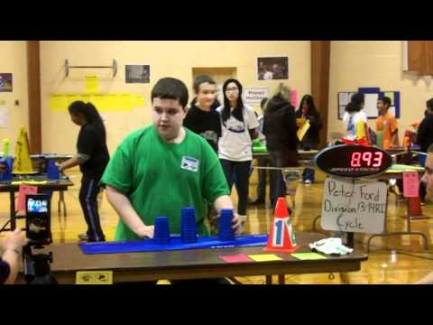My fastest times at the 2010 Connecticut Sport Stacking Championships