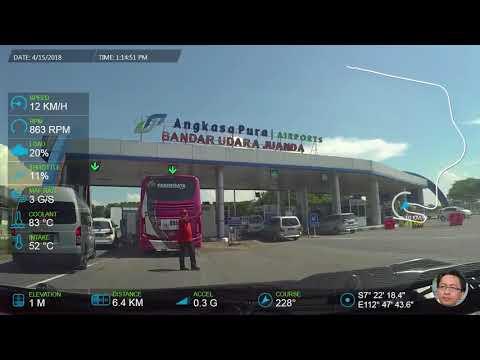 Surabaya Juanda Airport via Tambak Sumur Highway