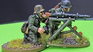 Video How to Paint a German MG34 Team Part 1 download MP3, 3GP, MP4, WEBM, AVI, FLV Agustus 2018