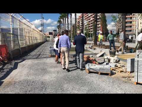 Obras de la Estación Martítima de Santander