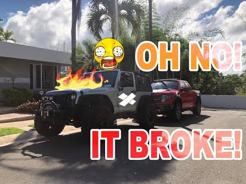 Jeep Wrangler JK TRACTION CONTROL And ESP Failure PROBLEM   How To FIX It FAST!
