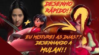 Baixar DESENHO RÁPIDO! - MISTUREI AS DUAS?? Mulan Live Action e Wreck It Ralph 2 Disney