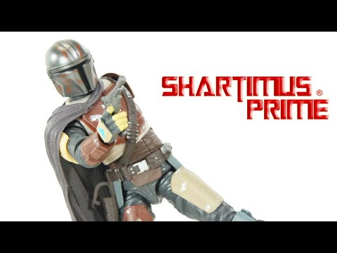 Star Wars The Mandalorian Black Series 6 Inch Disney+ Show Action Figure Review