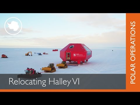 Relocation Halley VI Research Station
