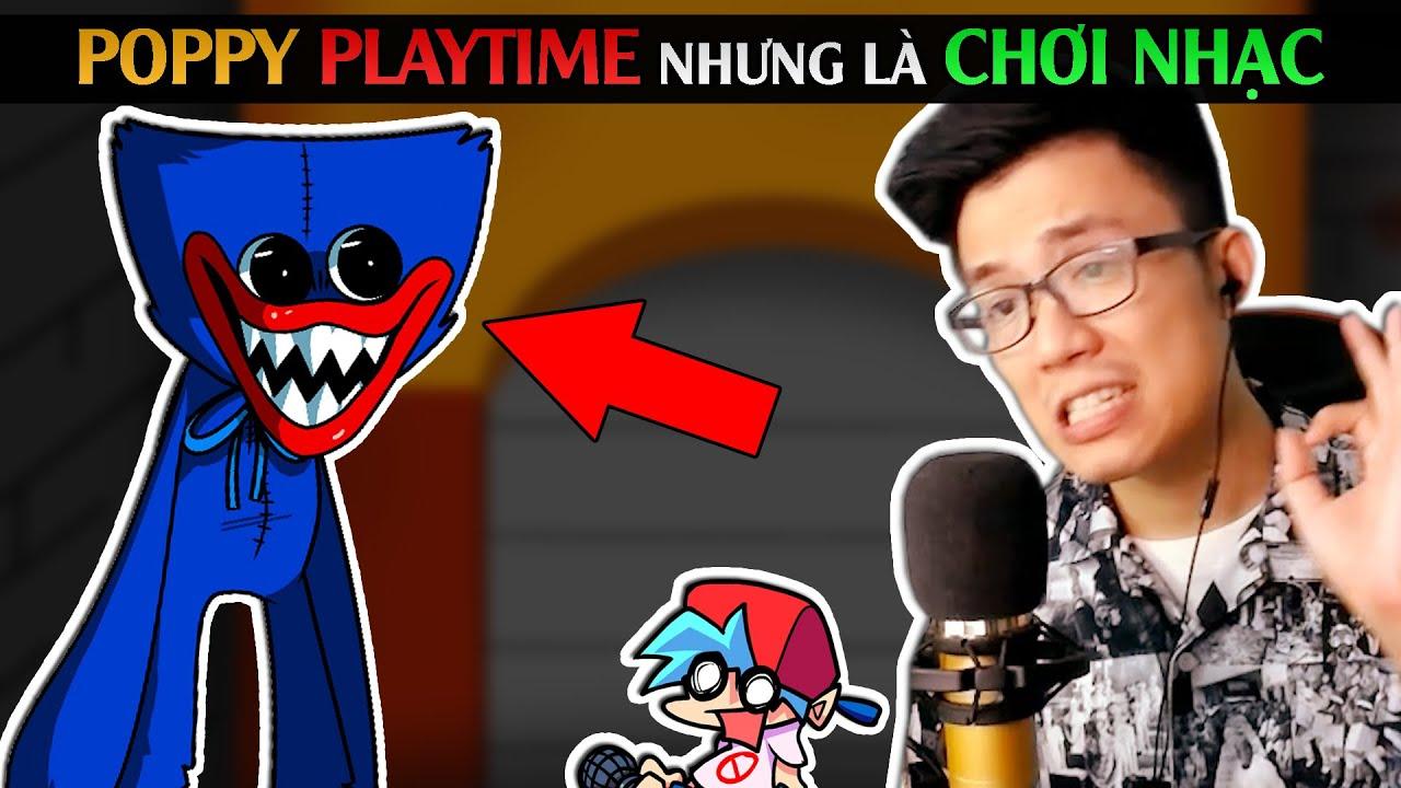 Poppy Playtime nhưng là chơi nhạc / Friday Night Funkin' VS Huggy Wuggy Week / SpiderGaming 2020