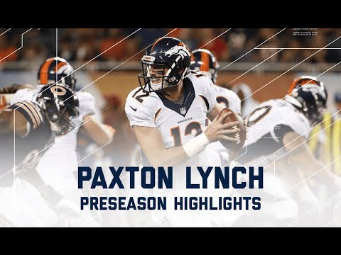 Paxton Lynch Highlights | Broncos vs. Bears | NFL