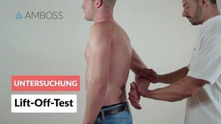 Lift-Off-Test - Orthopädie - Untersuchung der Schulter (Rotatorenmanschette) - AMBOSS Video