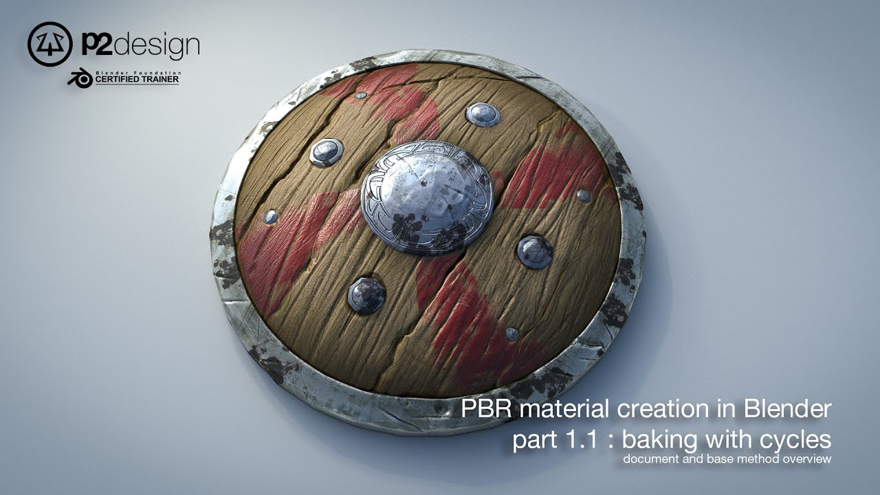 Pierrick PICAUT - TUTORIAL : PBR material creation in Blender