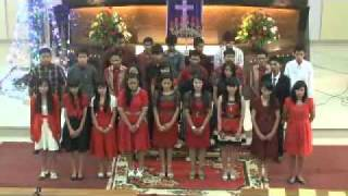 Koor Natal Remaja Naposo, 18 Desember 2011 in HKBP Cirebon