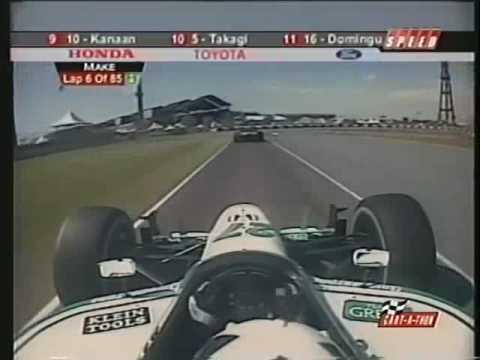 Dario Franchitti CART Onboard Fundidora Park 2002