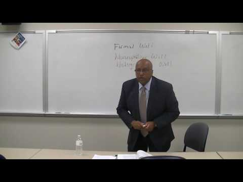 Ted Stevens Class Lecture 1