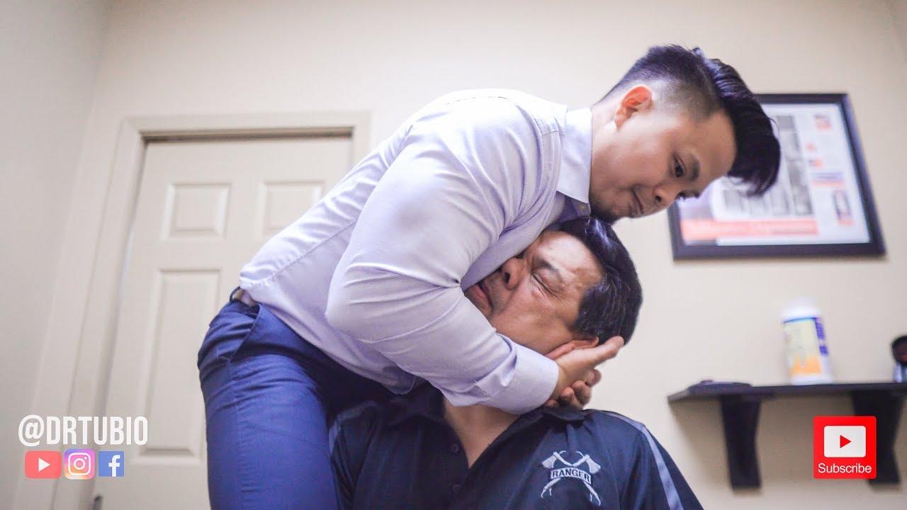 Satisfying Her Back! ~ ASMR Chiropractic Adjustment