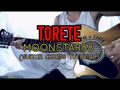 TORETE - Moonstar88 ( Easy Guitar Tutorial )