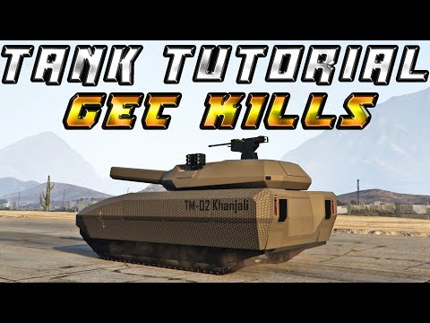 How To Use Battle Tanks Effectively In Gta 5 Online FULL TUTORIAL