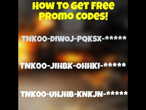 Tanki Online - How To Get Free Promo Codes (Correct Way!!!)