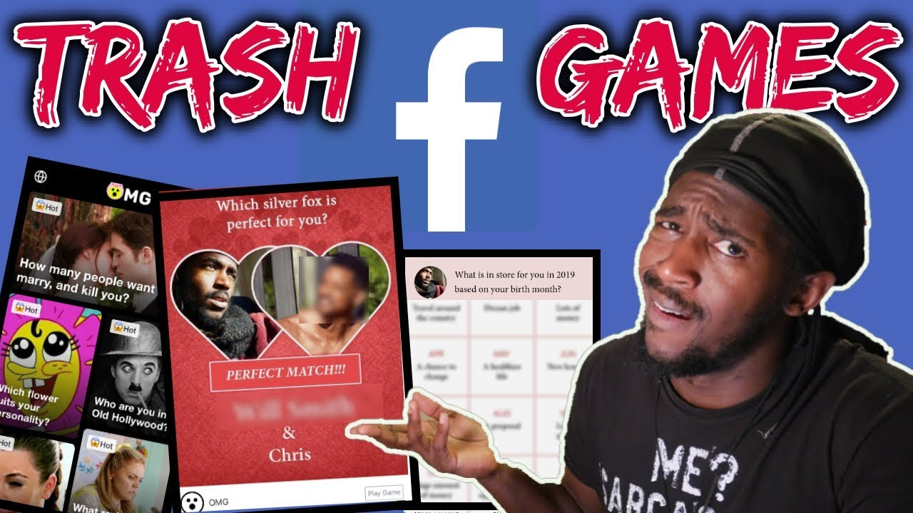 Playing The Worst Games On Facebook | OMG Games On Facebook Are The Worst  Games Online in 2019