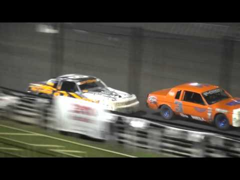 29th Annual Fall Challenge IMCA Hobby Stock feature Southern Iowa Speedway 10/2/15