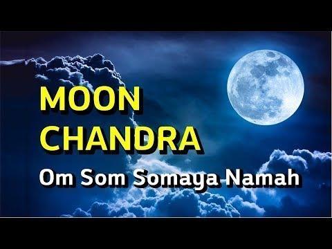 Moon Sterling Silver Mantra Bracelet OmShrim Som Somaya Namah