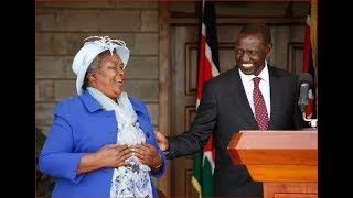 DP William Ruto's mother address Moi University students