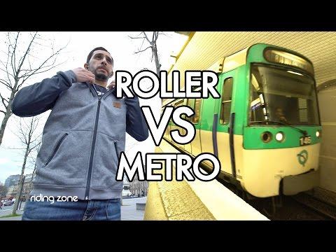 Défi Roller : Course contre le métro (feat. Lamine Fathi) / Race The Tube